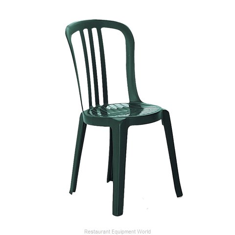 Grosfillex US495578 Chair, Side, Stacking, Outdoor