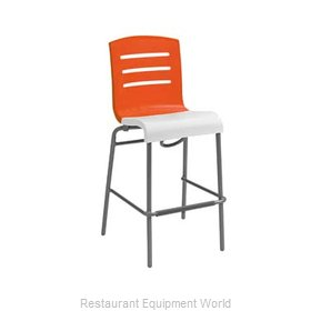 Grosfillex US510019 Bar Stool Stacking Indoor