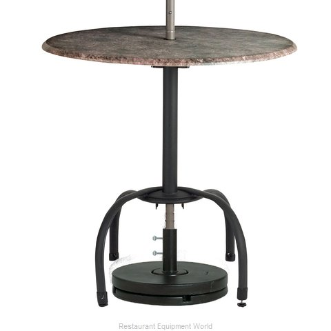 Grosfillex US528117 Table Base, Metal