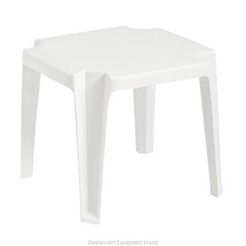 Grosfillex US529804 17'' x 17'' Stacking Low Table