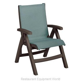 Grosfillex US550037 Chair, Folding, Outdoor