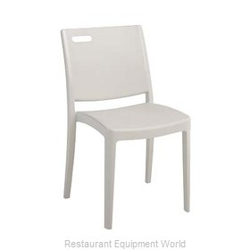 Grosfillex US563096 Chair, Side, Stacking, Outdoor