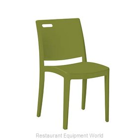 Grosfillex US563282 Chair, Side, Stacking, Outdoor