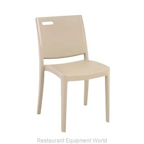Grosfillex US563581 Chair, Side, Stacking, Outdoor