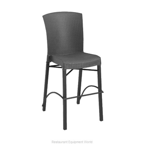 Grosfillex US626002 Bar Stool Stacking Outdoor
