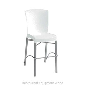 Grosfillex US626004 Bar Stool Stacking Outdoor