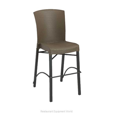Grosfillex US626037 Bar Stool Stacking Outdoor