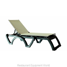 Grosfillex US636002 Chaise, Outdoor