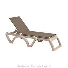 Grosfillex US636181 Chaise, Outdoor