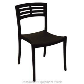 Grosfillex US637017 Chair, Side, Stacking, Outdoor