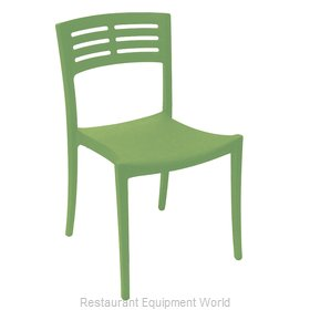 Grosfillex US637721 Chair, Side, Stacking, Outdoor