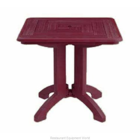 Grosfillex US643067 Table Folding Outdoor