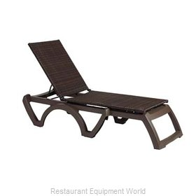 Grosfillex US645237 Chaise, Outdoor