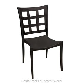 Grosfillex US647017 Chair, Side, Stacking, Indoor