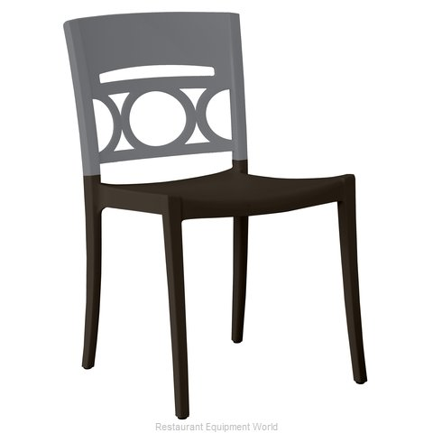 Grosfillex US656579 Chair, Side, Stacking, Outdoor