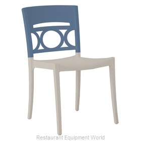 Grosfillex US656680 Chair, Side, Stacking, Outdoor