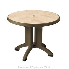 Grosfillex US700037 Folding Table, Outdoor
