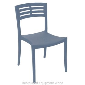 Grosfillex US738680 Chair, Side, Stacking, Outdoor