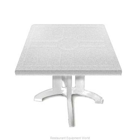 Grosfillex US810004 Folding Table, Outdoor