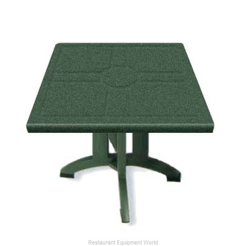 Grosfillex US810078 Folding Table, Outdoor