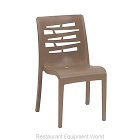 Grosfillex US812181 Chair, Side, Stacking, Outdoor