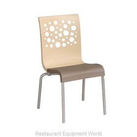 Grosfillex US835413 Chair, Side, Stacking, Indoor