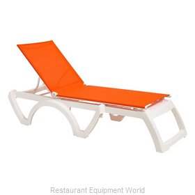 Grosfillex US876019 Chaise, Outdoor