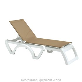 Grosfillex US876552 Chaise, Outdoor