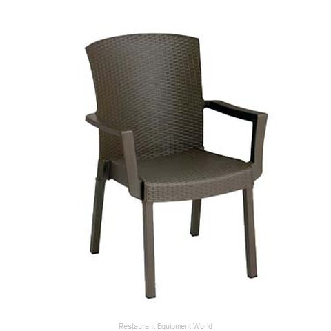 Grosfillex US903037 Chair Armchair Stacking Outdoor