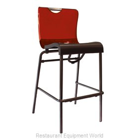 Grosfillex US922207 Bar Stool, Stacking, Indoor