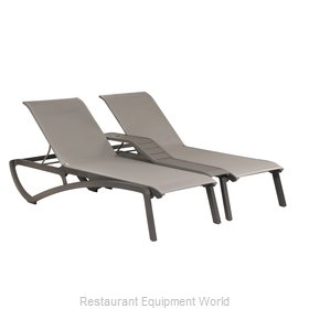 Grosfillex US942289 Chaise, Outdoor