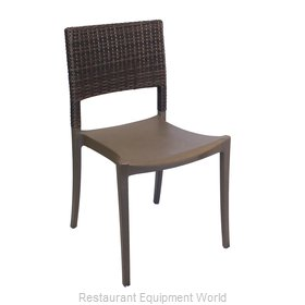 Grosfillex US985037 Chair, Side, Stacking, Outdoor