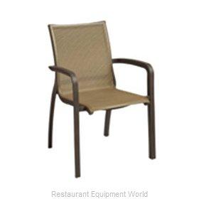 Grosfillex XA643599 Chair, Armchair, Stacking, Outdoor