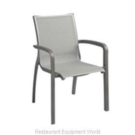 Grosfillex XA644288 Chair, Armchair, Stacking, Outdoor