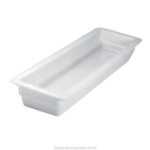 Hall China 1015P-WH China Food Pan