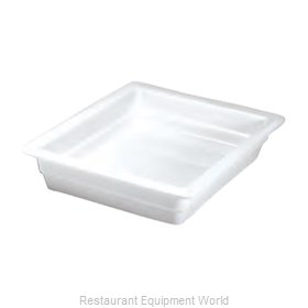 Hall China 1016P-BW China Food Pan