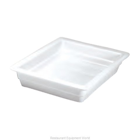 Hall China 1016P-WH China Food Pan
