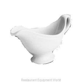 Hall China 1138-WH Gravy Sauce Boat, China