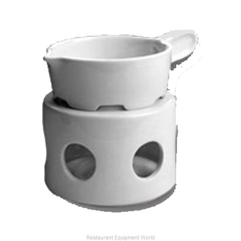 Hall China 1143-WH Butter Melter