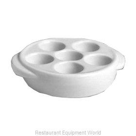 Hall China 11640AWHA Escargot Plate, China