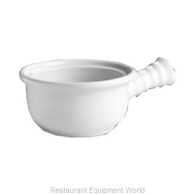 Hall China 1192-WH China Onion Soup Crock