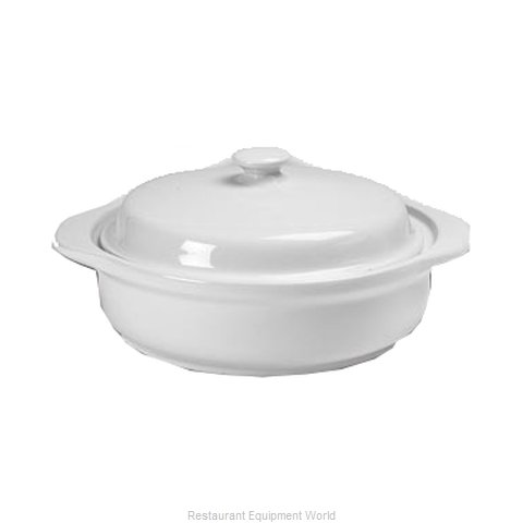 Hall China 2106-BW China Casserole Dish