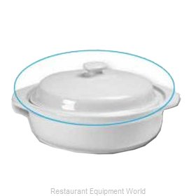 Hall China 2106-C-WH China, Cover / Lid
