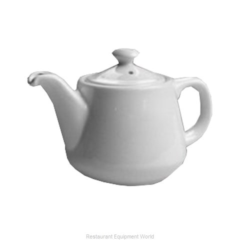 Hall China 2322-WH China Coffee Pot Teapot (Magnified)