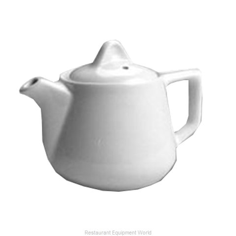 Hall China 251-WH China Coffee Pot Teapot