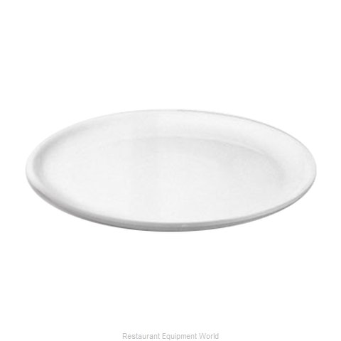 Hall China 2613-WH China Service Plate (Magnified)