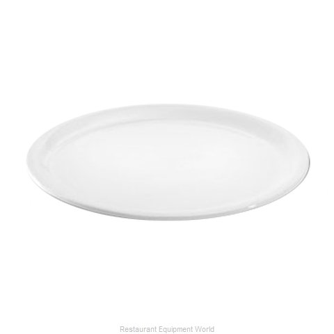 Hall China 2616-WH Plate, China (Magnified)