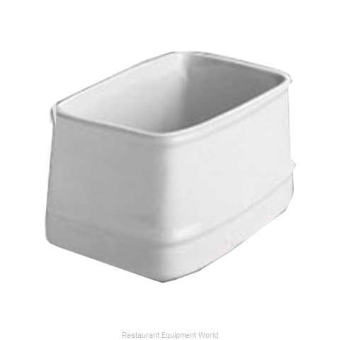 Hall China 3383-BW China Sugar Packet Holder