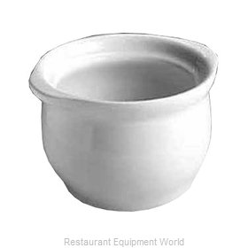 Hall China 476-B-WH Soup Bowl Crock, Onion