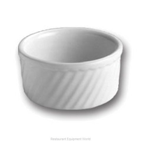Hall China 500-BW Souffle Bowl / Dish, China